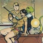 Dinosaur Rex by Jan Strnad and Henry Mayo (1987)