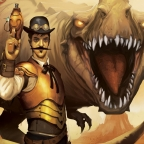 The Doctor and the Dinosaur by Mike Resnick (2013)