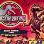 Jurassic Park III: Island Survival Game by Milton Bradley (2001)