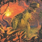 The Science Fictional Dinosaur, edited by Robert Silverberg, et al. (1982)